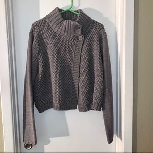 Mossimo Gray Shrug Sweater